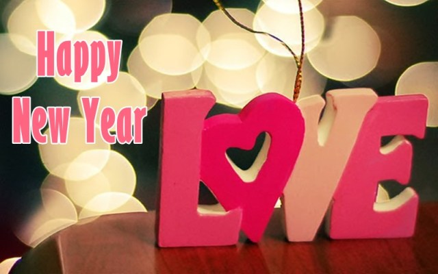 Happy New Year Love Greetings Image