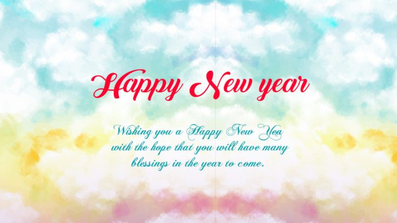 Happy New Year Wishes Message Image