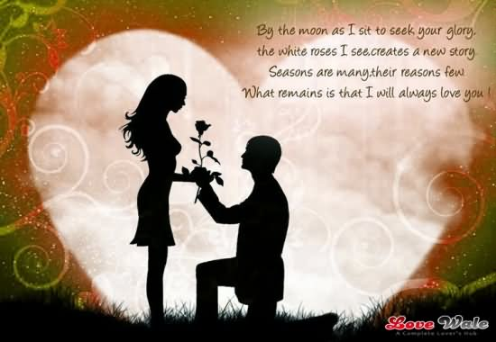 Happy Propose Day To My Love Greetings Image