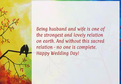Happy Wedding Day Quotes Image
