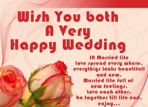 Happy Wedding Wishes & Quotes