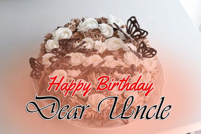 Happy birthday Dear Uncle Wishes Image