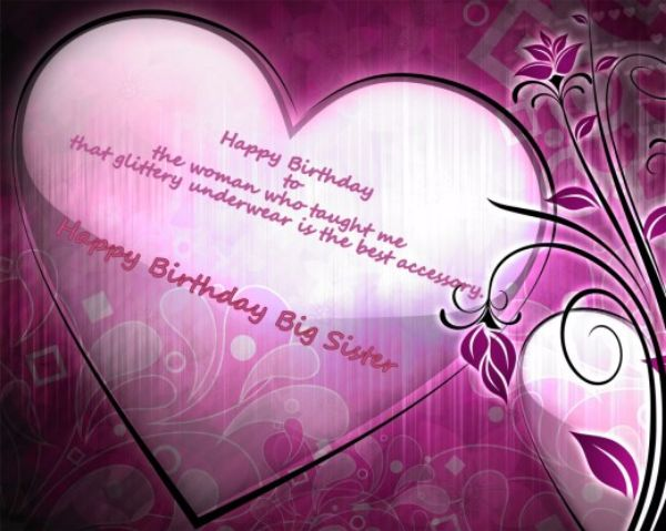 Have A Great Day Happy Birthday Big Sister Wishes Image