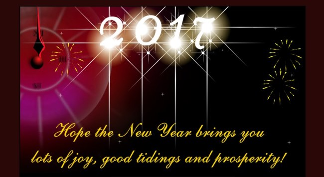 Hope The New Year 2017 Wishes