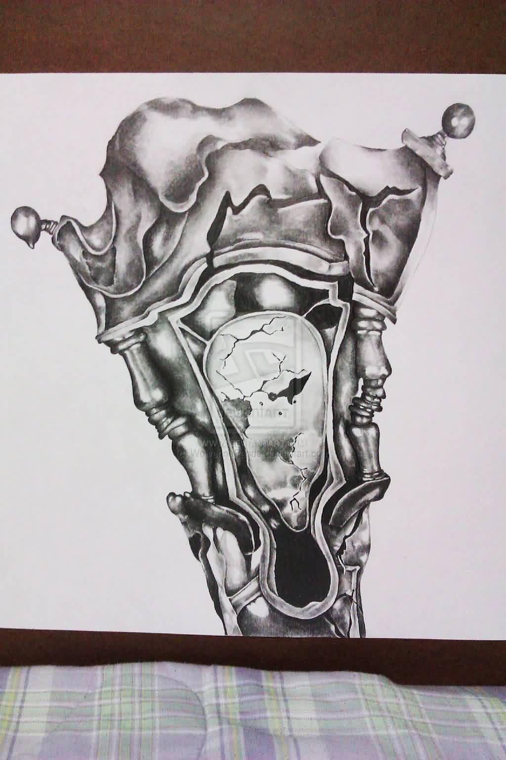 Grandfather Clock Sketch 49 Phenomenal Cl...