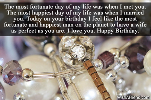 I Love Happy Birthday Happiest Man On The Planet To Have A Wife As Perfect