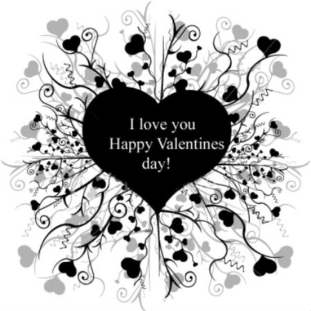 I Love You Happy Valentine Day Greeting Image