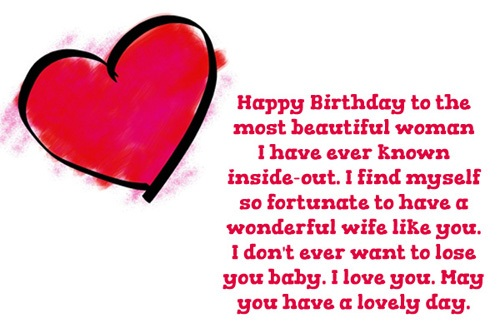 38 Wonderful Wife Birthday Wishes Quotes Image For All The ...
