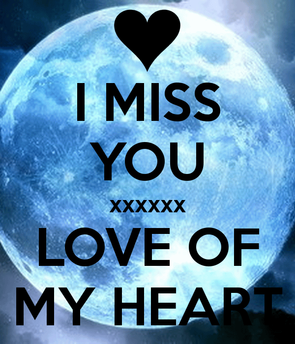 I Miss You Love Image