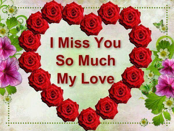 I Miss You So Much Beautiful Wishes