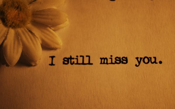 I Still Miss You GreetingText