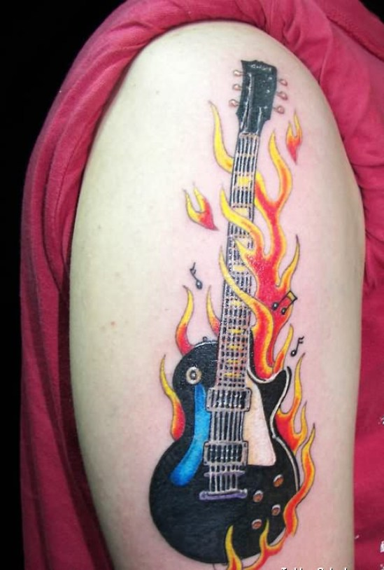 Rock Band Tattoo 018