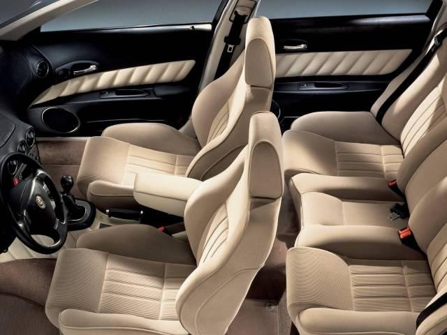 Inner side view of beautiful Alfa Romeo 166 Car