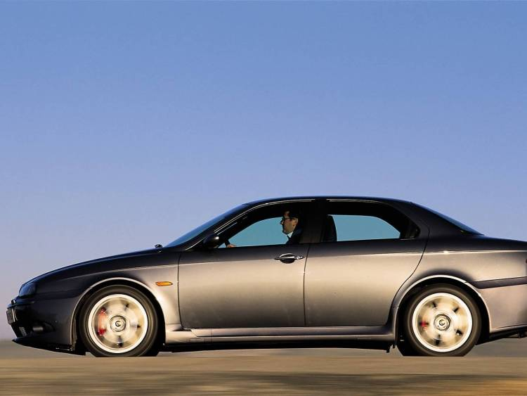 Left side of beautiful Alfa Romeo 156 GTA Car