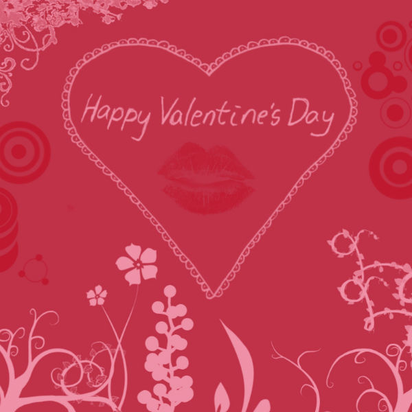 Love Greetings Message Happy Valentine Day Image