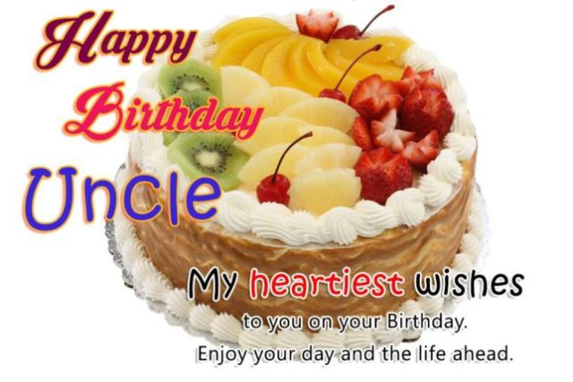 Lovely Greetings For Uncle Birthday Wishes Image