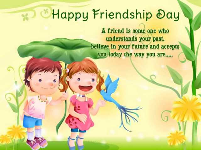 Lovely Quotes Happy Friendship Day Wishes For Friend