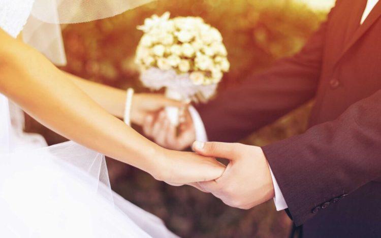 Lovely Wedding Couple Wallpaper