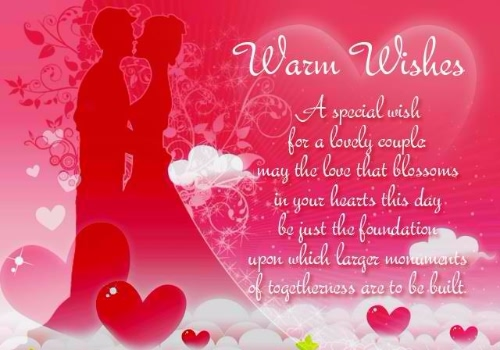 Lovely Wedding Greeting Quotes