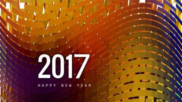 Lovely Wishes Happy New Year 2017 Image