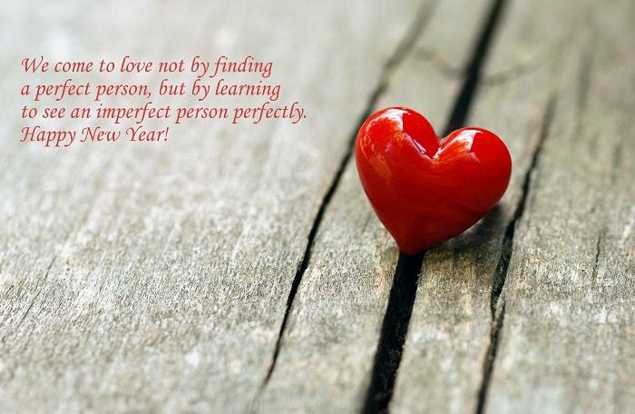 Lovely Message On Happy New Year Image