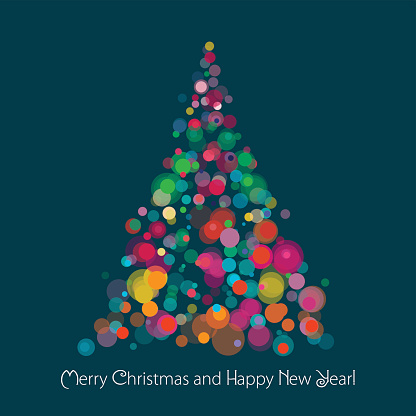 Merry Christmas And Happy New Year Wishes Card Image