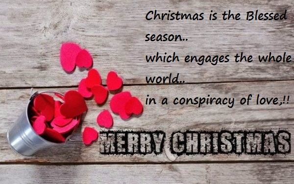 Merry Christmas Greeting For Lover