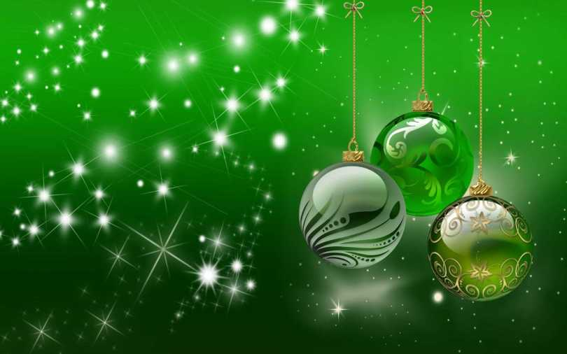 Merry Christmas & Happy Holiday Wishes Wallpaper