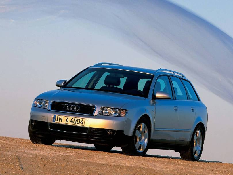 Mind Blowing view of Audi A4 Avant Car