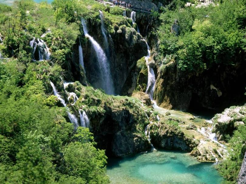 Most Fantastic Plitvice Lakes National Park Croatia 4K Wallpaper