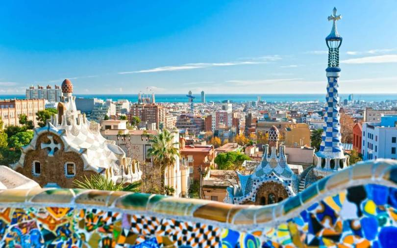 Most Wonderful Barcelona Spain Full HD Wallpaper