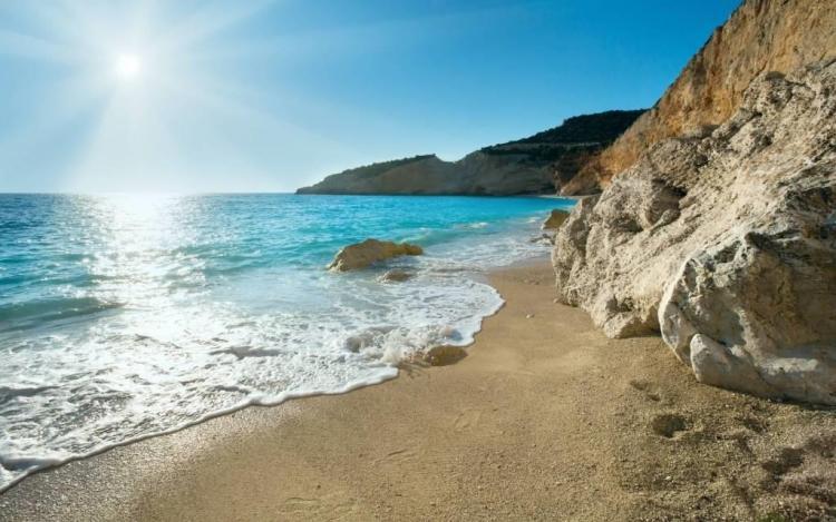 Most Wonderful Beach View Full HD Wallpaper
