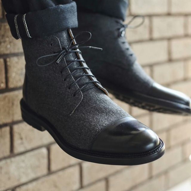 My Favorite Black Lace Up Leather Shoe For Men