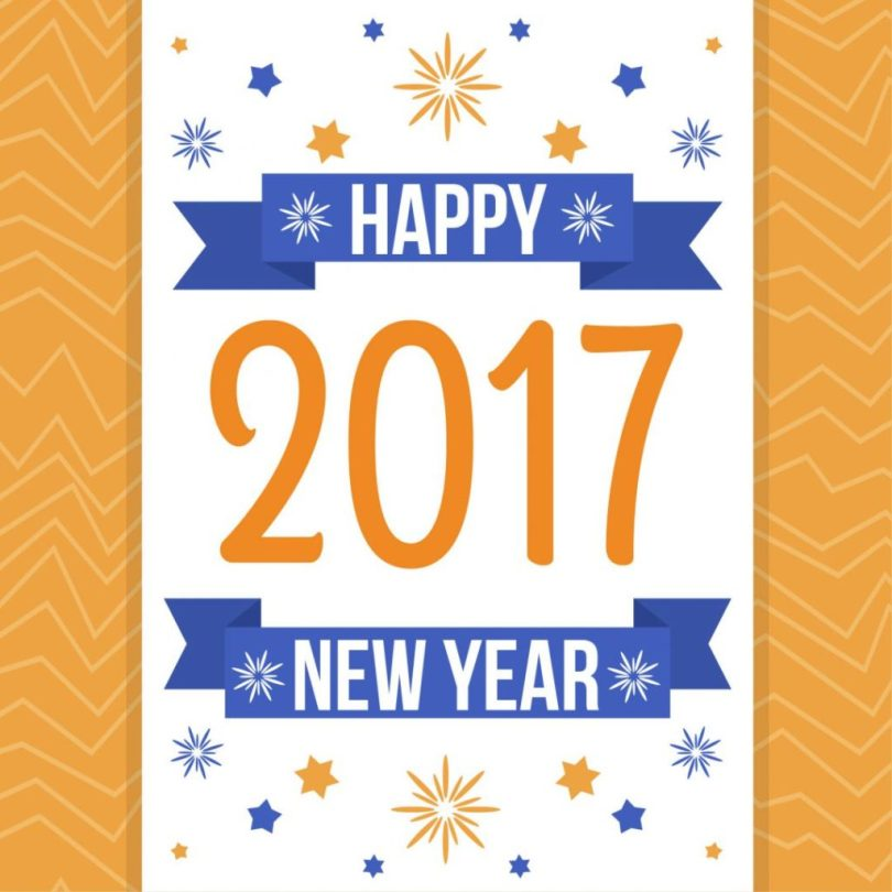 New Year Greeting E Card Image