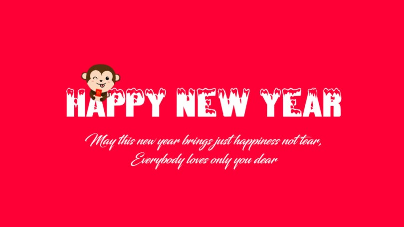 New Year Message Image