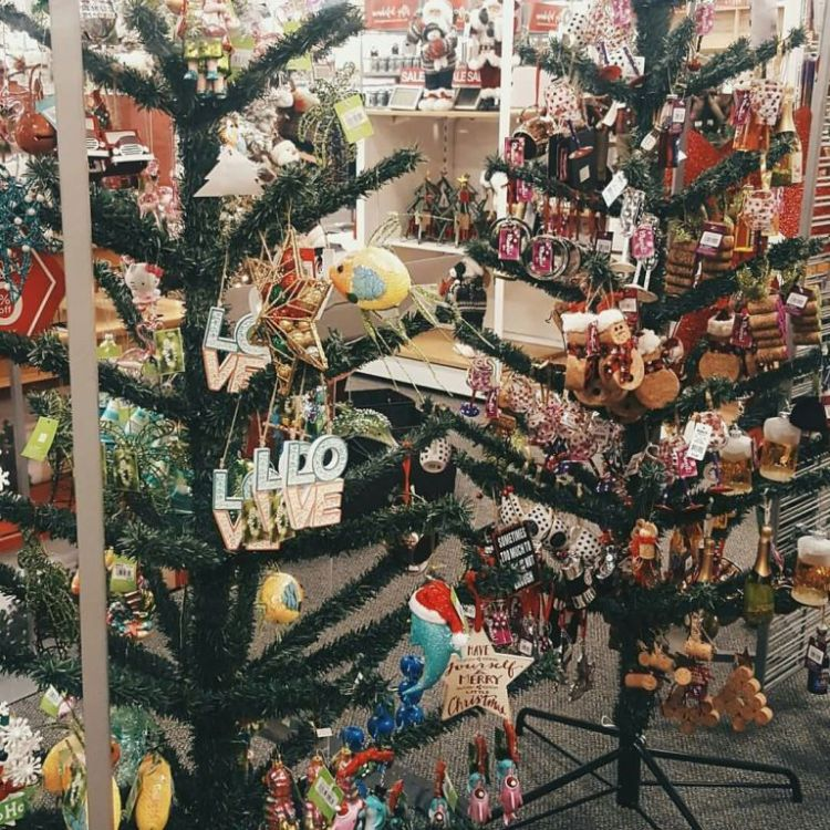 Nice Christmas Tree Decorated With Amazing Toys And Many Items