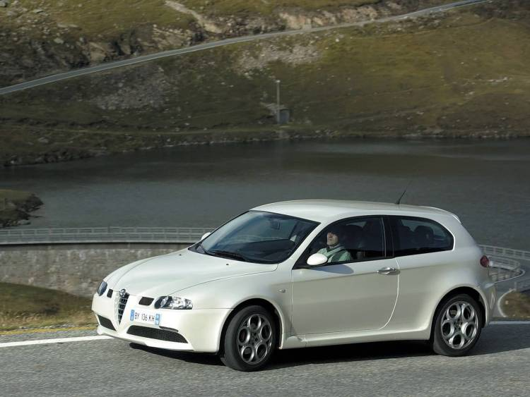 alfa romeo 147 white - photo #40