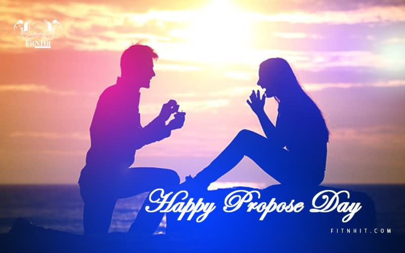 Propose Day Greetings Wallpaper