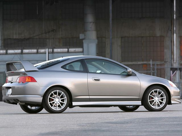 Right side view of beautiful Acura RSX Car