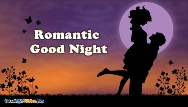 Romantic Good Night Wallpaper