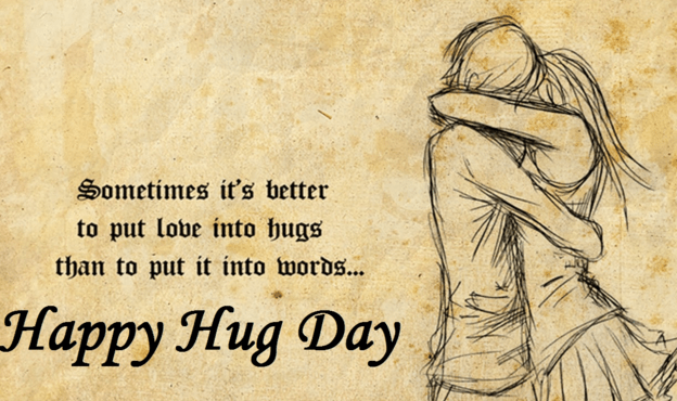 Special Hug Day Wishes For Friend Lovely Image