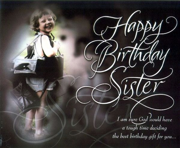 The Best Birthday Gift For You Happy Birthday Sister Wishes Image
