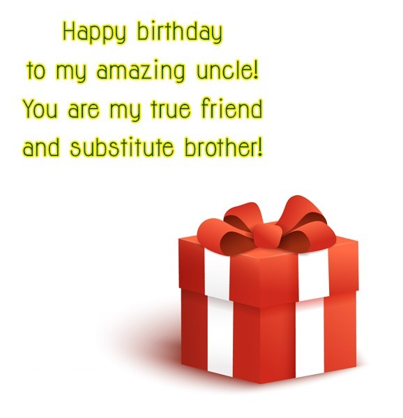 To My Amazing Uncle Happy Birthday Wishes Image