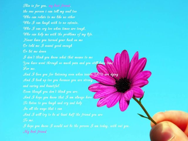 To My Best Friend Happy Friendship Day Greetings Message Image