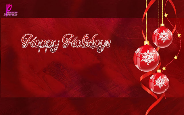 To My Dear Friend Happy Holiday Wishes Message Image