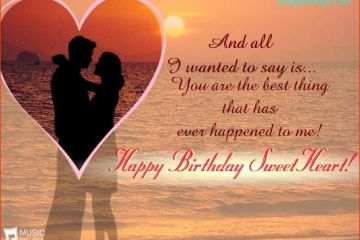 To My Greatest Hubby Happy Birthday Sweetheart Image