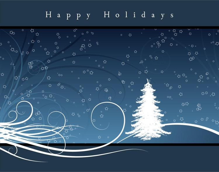 To My Lovely Friend Happy Holiday Wishes Image