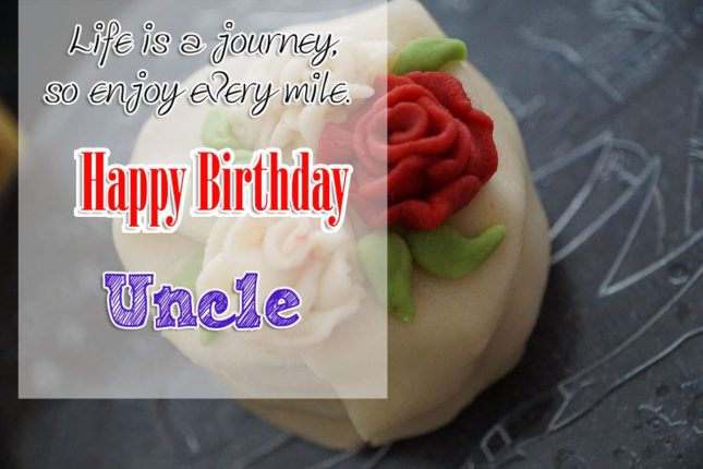 To World Best Uncle Happy Birthday Wishes Image
