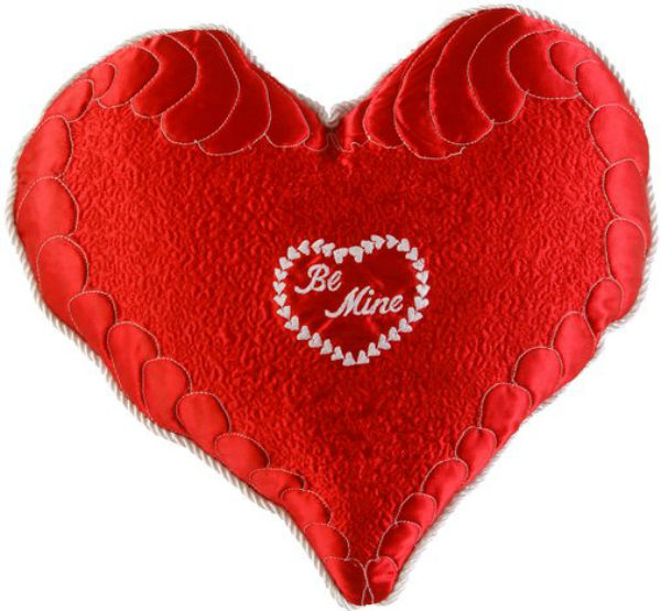 Valentine Day Heart Greetings Image