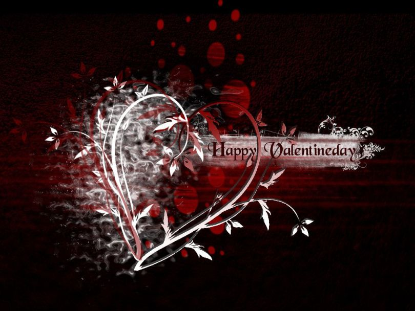 Valentine's Day My Love Greetings Wallpaper